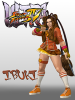 USFIV Ibuki Vacation outfit for XPS download by KSE25