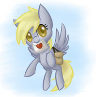 Derpy has something for you! by Chiramii-chan
