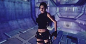 Lara_Croft_Aquatic_Research_Area by ivedada