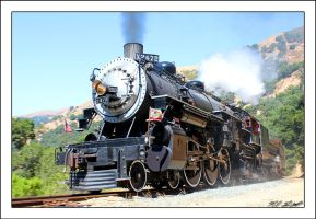 Southern Pacific Engine 2472 by NitzkaPhotography