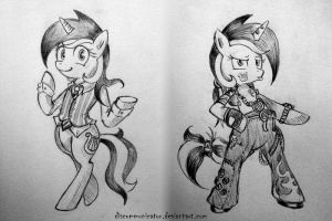 Lyra o' fashion by Discommunicator