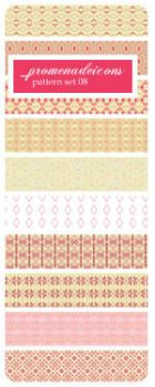 Pink Patterns by luthienblack