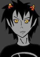 Karkat Finished FOR GEEWIZ by RainbowShroom