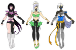 COM: Star Elite Designs Set 1 by SamoanVampCatt