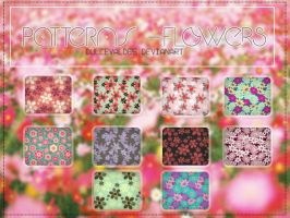Patterns Flowers by DulceValdes