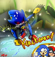 Metal Sonic BOOM BABY!! by InvdrScar