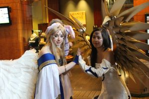 Belldandy and Skuld by alyonheart