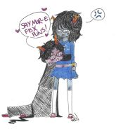 Day 151: SAY MOR-E FIS)( PUNS! by Falling-Wish