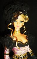 Gabrielle de Lioncourt barbie by dakotassong