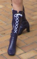 Sailor Saturn Boots by sailor-marz