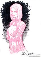 Emma Frost, Uncanny X-Men by ToddNauck