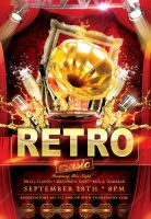 Retro-music- by Styleflyers