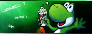 Yoshi at the cinema by Machopeur