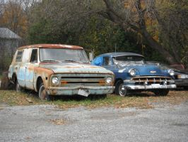 Rusted Chevys by Totaler