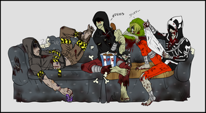 The Big Comfy Couch by Nanuka