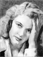 Ingrid Bergman by Alene