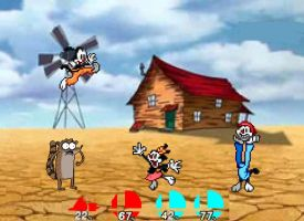 CF resquest Yakko and Rigby vs. Wakko and Dot by SuperMaster10