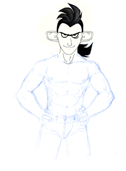 Sexy Drakken_WIP by Vee-Freak