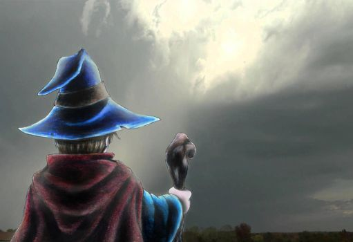 Wizard Over Yonder by omardumore