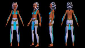 Ahsoka T-Skug Outfit 02 by habariart