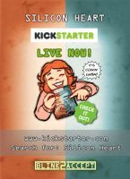 Silicon Heart Kick-starter LIVE NOW! XD by Kat-Nicholson