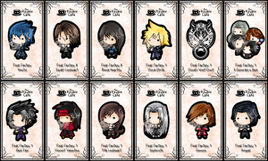 final fantasy keybies by silverei