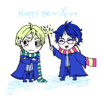 HP: HEY HAPPY NEW YEAR soon by cannorachan