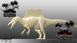 Spinosaurus Progress 04 (New Version) by Tea-rexx