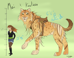 Aspect Contest Entry: Mai and Kaelieen by DarkHeartSeer