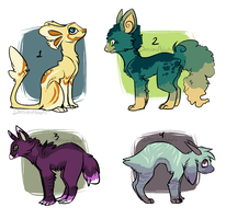 Creature adoptables 1 | OTA | CLOSED by DaisiesAdopts