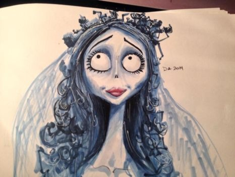 Corpse Bride by CatLadyD