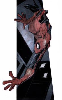 iPad Spidey by JohnTimms