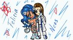 Neos and Felicia, the beginning of the history by xSkyLightx