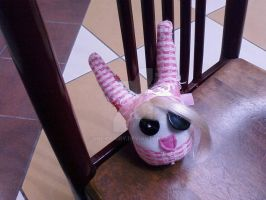 a sock doll named lola by lucidfairy
