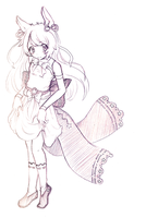 Sketch #2 ~ For x--SmilingAngel--x by LinYan