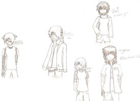 Ma own characters..all of them by Rox512