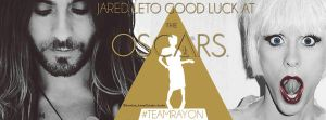 Good Luck at the Oscars Jared Leto Fb Cover by lovelives4ever