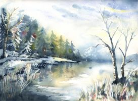 Winter weather by doma22