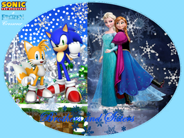Sonic and Frozen crossover: Brothers and Sisters by bvge