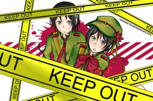 KEEP OUT (redo) by yuukinguyen