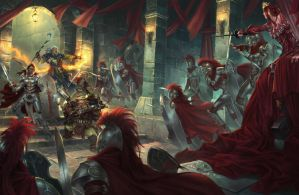 Attack on the Crimson liesetiawan paizo by LieSetiawan