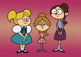 1960s Chipettes by gaucelm