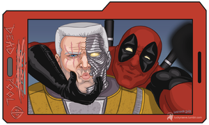 Hey, Cable! Make a sexy face! by luckyraeve