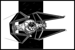 Tie Interceptor by Rafta