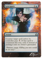 Syncopate - MtG Alter by closetvictorian