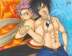 Natsu and Gray by Sanctioned