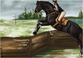 Jumping finnish style by Moeso