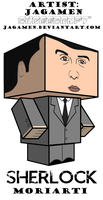 Moriarti Cubee by JagaMen