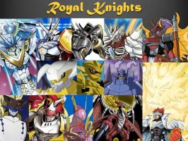 Royal Knights Wallpaper #2 by Omnimon1996