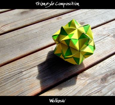 Triangle Composition by wolbashi